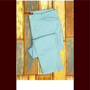 Nydj sz 20w light blue ankle jeans